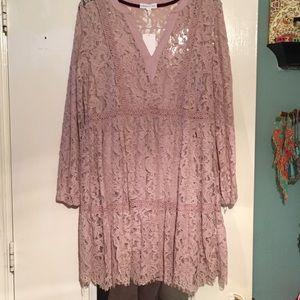 Beautiful lace detailed dress